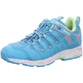 Schuhe Jungen Wanderschuhe Meindl Bergschuhe Snap Junior 2046 026 blau