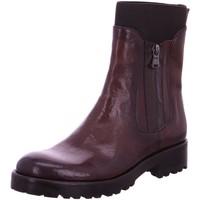 Schuhe Damen Stiefel Corvari Stiefeletten D3038 lila
