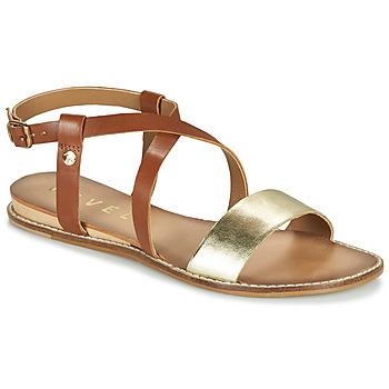 Schuhe Damen Sandalen / Sandaletten Ravel ASPEN Gold / Camel