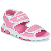 Schuhe Kinder Sportliche Sandalen Reebok Sport WAVE GLIDER III Rose