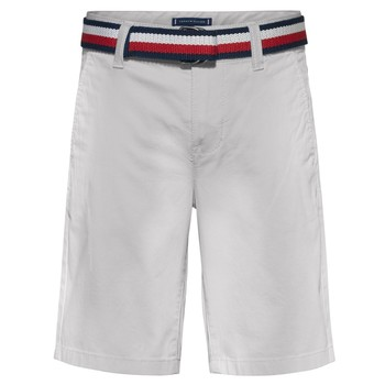 Kleidung Jungen Shorts / Bermudas Tommy Hilfiger FORTA Weiss