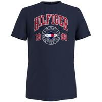 Kleidung Jungen T-Shirts Tommy Hilfiger CRISA Marine