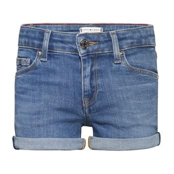 Kleidung Mädchen Shorts / Bermudas Tommy Hilfiger KG0KG05773-1A4 Blau
