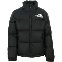 Kleidung Kinder Daunenjacken The North Face 1996 Retro Nuptse Jacket Kids Schwarz
