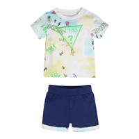 Kleidung Jungen Kleider & Outfits Guess I1GG18-K8HM0-PHT2 Multicolor