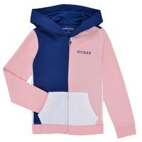 Kleidung Mädchen Sweatshirts Guess K1RQ00-KA6R0-F672 Weiss / Rose
