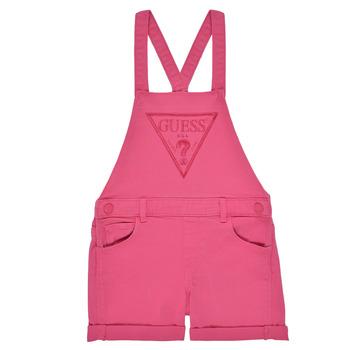Kleidung Mädchen Overalls / Latzhosen Guess K1GK10-WB5Z0-JLPK Rose