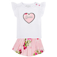 Kleidung Mädchen Kleider & Outfits Guess A1GG10-K6YW1-TWHT Multicolor