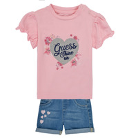 Kleidung Mädchen Kleider & Outfits Guess A1RG09-K6YW0-G600 Multicolor