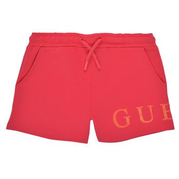 Kleidung Mädchen Shorts / Bermudas Guess K1GD08-KAN00-C448 Rose