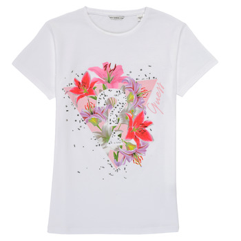 Kleidung Mädchen T-Shirts Guess J1RI24-K6YW1-TWHT Weiss