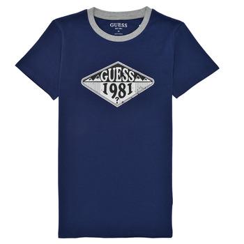 Kleidung Jungen T-Shirts Guess L1GI09-K8HM0-DEKB Marine