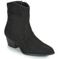 Schuhe Damen Low Boots Vanessa Wu  Schwarz