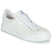 Schuhe Damen Sneaker Low Victoria Tribu Weiss