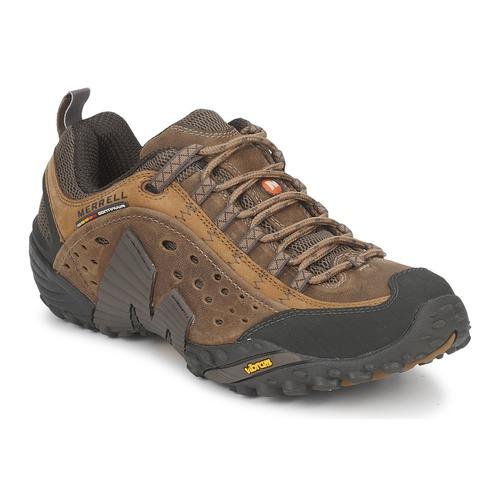 Schuhe Herren Sneaker Low Merrell INTERCEPT Braun