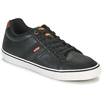 Schuhe Herren Sneaker Low Levi's TURNER Schwarz