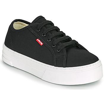 Schuhe Damen Sneaker Low Levi's TIJUANA Schwarz