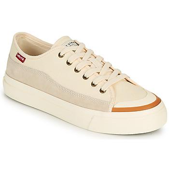 Schuhe Damen Sneaker Low Levi's SQUARE LOW S Weiss