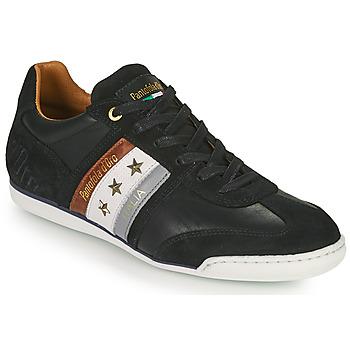 Schuhe Herren Sneaker Low Pantofola d'Oro IMOLA UOMO LOW Schwarz