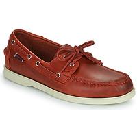 Schuhe Herren Bootsschuhe Sebago PORTLAND WAXED Rot