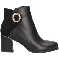 Schuhe Damen Low Boots Exé Shoes F1870-N77 SCHWARZ