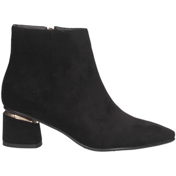 Schuhe Damen Low Boots Exé Shoes K1515-2253 SCHWARZ