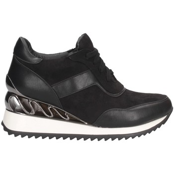 Schuhe Damen Sneaker High Exé Shoes Exe' K34-A864 Sneaker Frau SCHWARZ SCHWARZ
