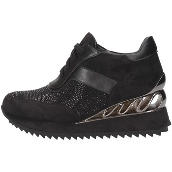 Schuhe Damen Sneaker High Exé Shoes K34-A808 SCHWARZ