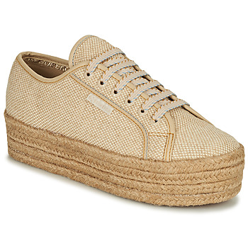 Schuhe Damen Sneaker Low Superga 2790 JUTECOTROPEW Beige