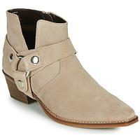 Schuhe Damen Klassische Stiefel Steve Madden GOLDA Beige