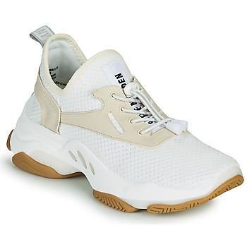 Schuhe Damen Sneaker Low Steve Madden MATCH Weiss / Beige