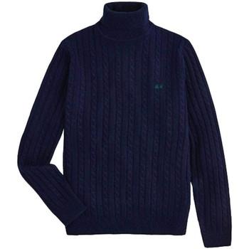 Kleidung Herren Pullover Sun68  Blau