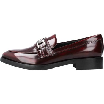 Geox DONNA BROGUE Rot - Schuhe Slipper Damen 8094
