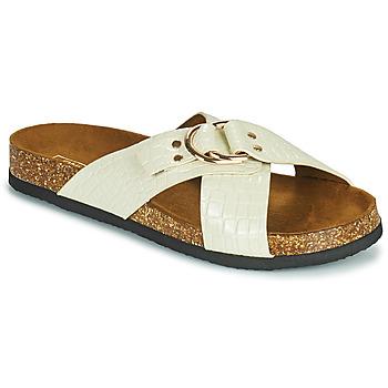 Schuhe Damen Pantoffel Only MAXI 2 Weiss