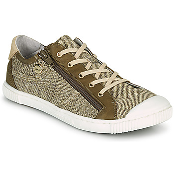 Schuhe Damen Sneaker Low Pataugas BOMY F2G Gold / Kaki