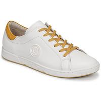 Schuhe Damen Sneaker Low Pataugas JAYO F2G Weiss / Ocker