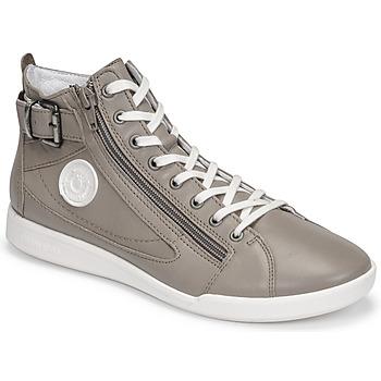 Schuhe Damen Sneaker High Pataugas PALME/N F2E Maulwurf