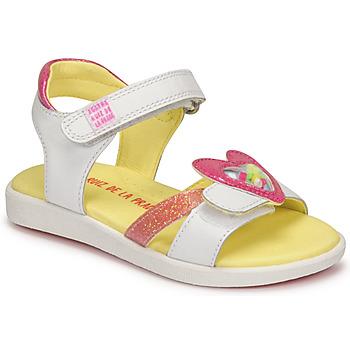 Schuhe Mädchen Sandalen / Sandaletten Agatha Ruiz de la Prada AITANA Weiss