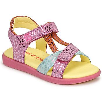 Schuhe Mädchen Sandalen / Sandaletten Agatha Ruiz de la Prada AITANA Rose