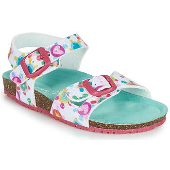 Schuhe Mädchen Sandalen / Sandaletten Agatha Ruiz de la Prada BIO Weiss