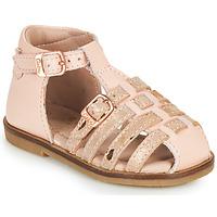 Schuhe Mädchen Sandalen / Sandaletten Aster NINI Rose