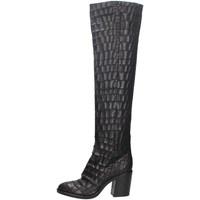 Schuhe Damen Klassische Stiefel Strategia A4836-K SCHWARZ