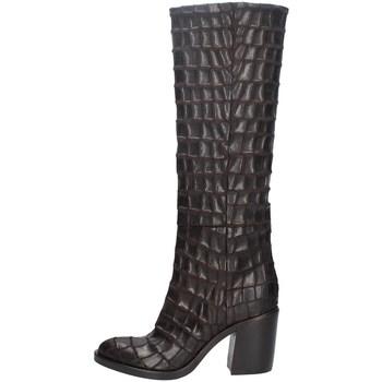 Schuhe Damen Klassische Stiefel Strategia A4835-T BRAUN