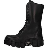 Schuhe Damen Low Boots New Rock NRSM-WALL029N SCHWARZ