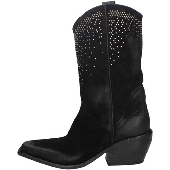 Schuhe Damen Klassische Stiefel Elena Iachi E2652 SCHWARZ