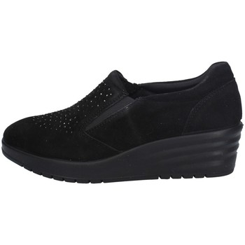 Schuhe Damen Slip on Imac 606350 SCHWARZ