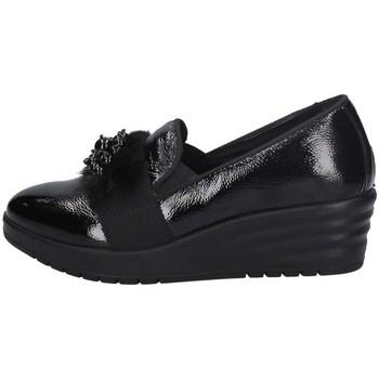 Schuhe Damen Slip on Imac 606330 SCHWARZ