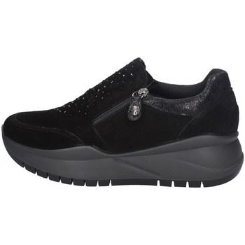 Schuhe Damen Slip on Imac 608471 SCHWARZ