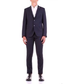 Kleidung Herren Anzüge Manuel Ritz 2932A3318-203554 Blau