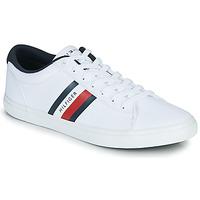 Schuhe Herren Sneaker Low Tommy Hilfiger ESSENTIAL STRIPES DETAIL SNEAKER Weiss